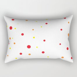 Dots IV. Rectangular Pillow