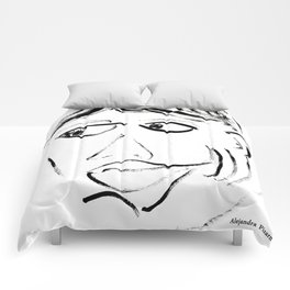 Alejandra Pizarnik Comforters