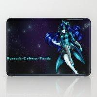 berserk iPad Cases featuring Berserk Cyborg Panda by Berserk Cyborg Panda