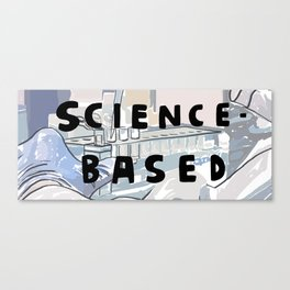 7 Banned Words: Science-based Canvas Print