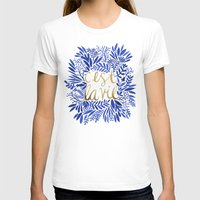waldo T-shirts featuring That's Life – Gold & Blue by Cat Coquillette