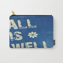 All Is Well - Blue Geni-ism Series Carry-All Pouch