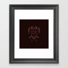 Woman Inside Framed Art Print
