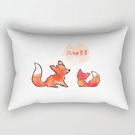 Aw!! Rectangular Pillow