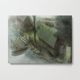 Fog day Metal Print