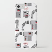 robots iPhone & iPod Cases featuring Robots  by Emma Joy Designs