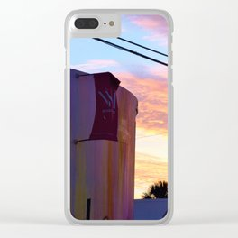 Wynwood Walls Sunset Clear iPhone Case