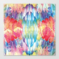 boho Canvas Prints featuring Boho by Marta Olga Klara