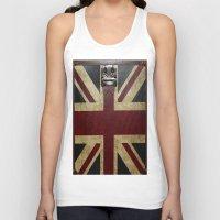 england Tank Tops featuring England Reisen by Fine2art