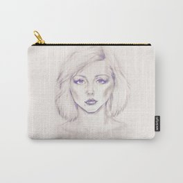 Debbie Harry from Andy Warhol famous picture Carry-All Pouch