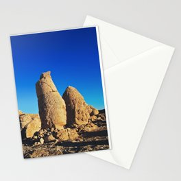 Sunrise; Sculptures of the Commagene Kingdom, Nemrut Dagi  Stationery Cards