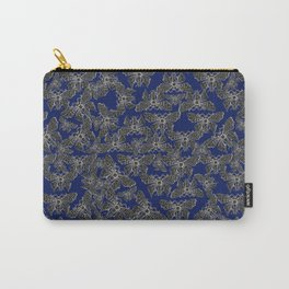 Night Butterfly Jewel Carry-All Pouch