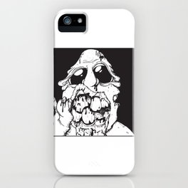 A Living Dead Guy iPhone Case