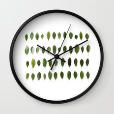 LEAVES COLLECTION Wall Clock
