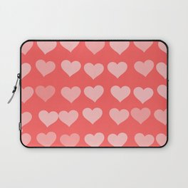 Cute Hearts Laptop Sleeve