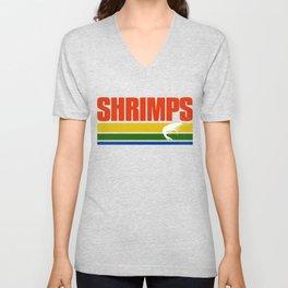 Shrimps Retro Shirt Unisex V-Neck
