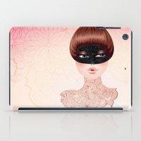 leah flores iPad Cases featuring Flores by Pete K.