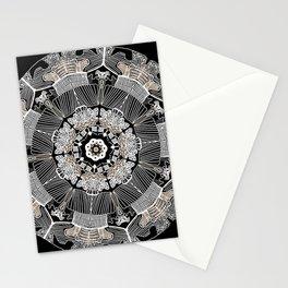 GoldenMandala Stationery Cards