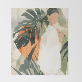 Jungle 3 Throw Blanket