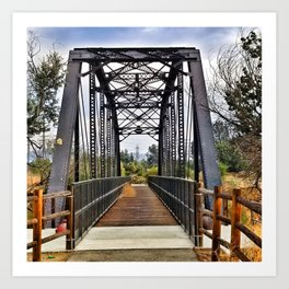 Bridging the Past Art Print