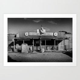 Broken Spoke Saloon Austin Texas Art Print