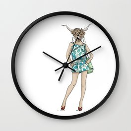 Magnificent Mia Wall Clock