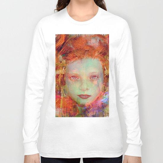 Autumnal girl Long Sleeve T-shirt