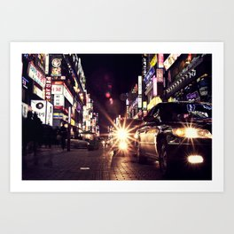 Ansan Light District Art Print