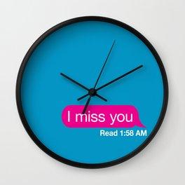imissyou Wall Clock