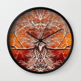 Alien Tree Rule Wall Clock