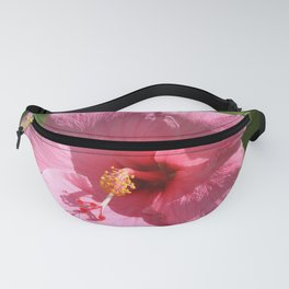 Pink Hibiscus Fanny Pack