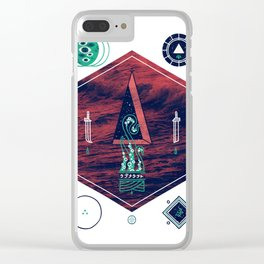 It fell from the stars, It rose from the sea Clear iPhone Case