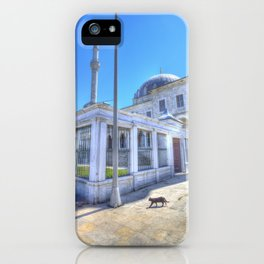 Istanbul Mosque Cat iPhone Case