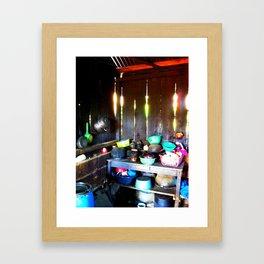 Guatemalan Kitchen Framed Art Print