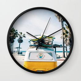 Surf van Wall Clock