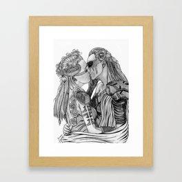 Clexa Wedding Framed Art Print