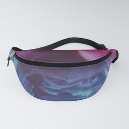 Pink & Blue Smoke Fanny Pack