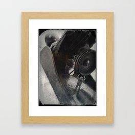 House Disaster Art - Plane Busy Framed Art Print