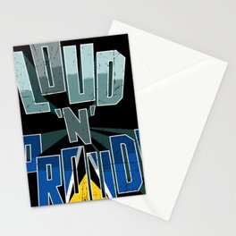 Saint Lucia Pride Loud N Proud Stationery Cards