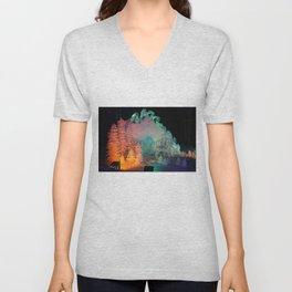 Aurora Dreams Unisex V-Neck