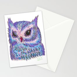 Tropical Owl Stationery Cards