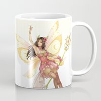 fairy Mugs featuring Fairy by clayscence