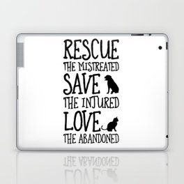 Rescue Save Love Laptop & iPad Skin