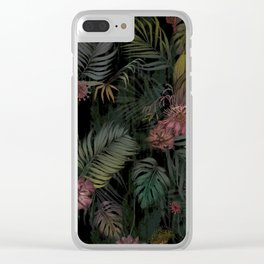 Tropical Iridescence Clear iPhone Case