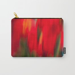 Red Gladiola Carry-All Pouch