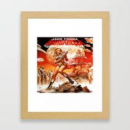 Queen Of The Galaxy Framed Art Print