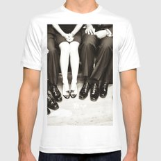 The Groomswoman MEDIUM Mens Fitted Tee White