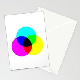 CMYK Color Model Stationery Cards