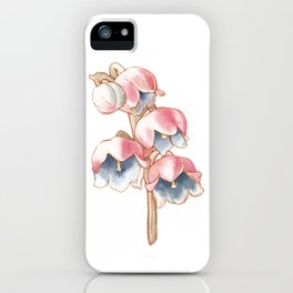 Floral Illustration - Lily of the Valley iPhone Case