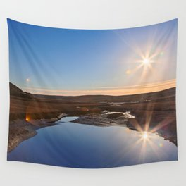 Twin Suns of Point Reyes Wall Tapestry